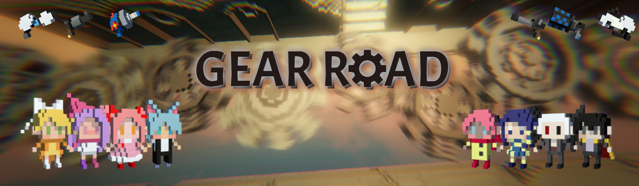 Gear Road - Jump and Shoot